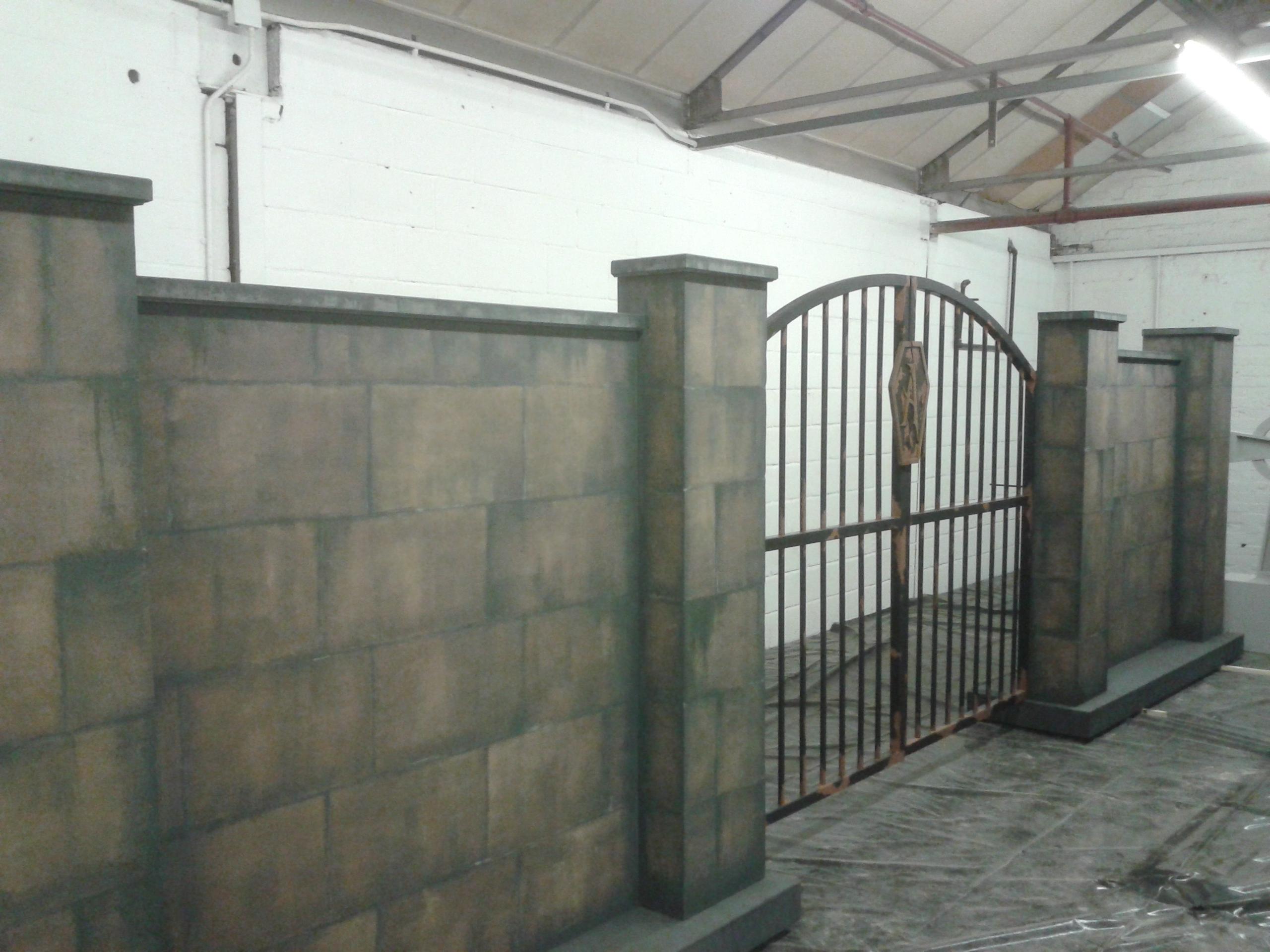 Addams wall & Gates